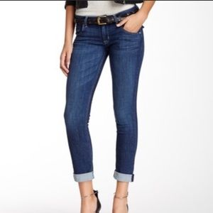 Hudson Bacara Straight Cuffed Cropped Jeans